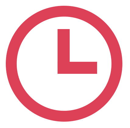 Urgency messaging time icon