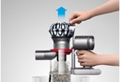 dyson v7 animal Cord-Free Vacuum Cleaner. Ejects dust from the bin in a single action
